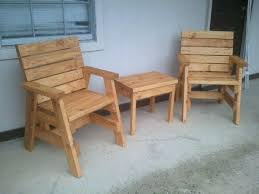 Patio Chair Plans Outdoor Wood Furniture Plans Pallet Wood Patio Chair Plans Wfud