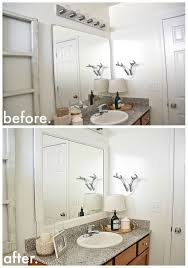Framing Existing Bathroom Mirrors by Best 25 Framed Bathroom Mirrors Ideas On Pinterest Framing A