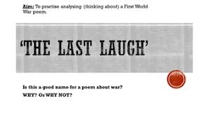 ww1 poetry full sow by nlb1706 teaching resources tes