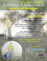 Golf Tournament Flags Josh Kernohan Memorial Golf Tournament The First Tee Of Tampa Bay