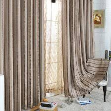 Stripe Curtain Panels Brown Striped Curtain Panels 2 Mainstays Poly Duck Stripe Curtain