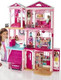 Barbie Box Halloween Costume Sale Barbie Dreamhouse Playset 70 Accessory Pieces Walmart