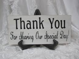 wedding gift table ideas custom wedding accessories rustic wedding sign thank you for