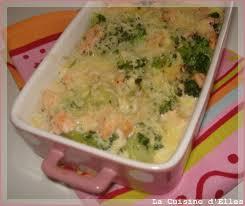 cuisine brocolis gratin au brocoli et au saumon la cuisine d elles