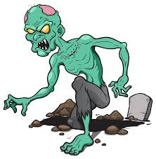 halloween zombie free clipart clipartbarn