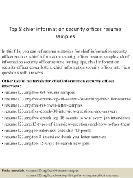 information security officer sample resume information security