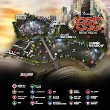 Citi Field Map Edc New York 2015 Map Released Insomniac