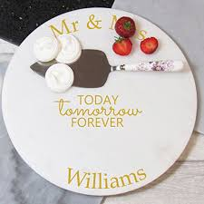 Wedding Gift Kl Wedding Personalised Marble Cake Plate Mr U0026 Mrs Gift