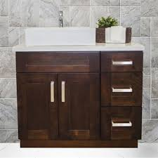 Shaker Style Bathroom Cabinet by Cowry Vac Ep Shaker Style Bathroom Vanity Set With 12 In Side