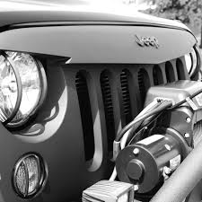 jeep grill logo intimidator combo pack black mountain jeep