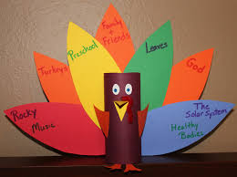 paper turkey crafts for williams