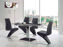 Black Glass Extending Dining Table Captivating Black Glass Extending Dining Table Dining Tables Black