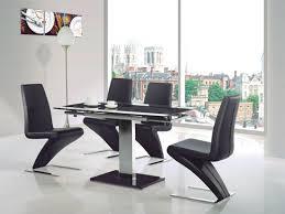 Black Glass Extending Dining Table Captivating Black Glass Extending Dining Table Dining Tables Black
