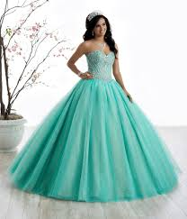 aqua green quinceanera dresses strapless tulle a line quinceanera dress by gowns 56325 abc