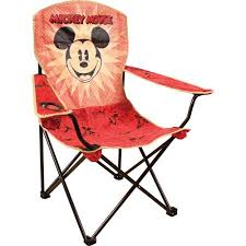 Mickey Mouse Chairs Disney Mickey Mouse Folding Chair With Arm Rest Walmart Com