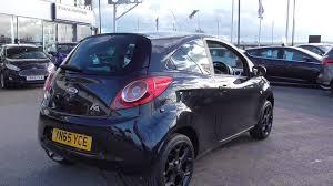 ford ka 00g 3 door zetec black edition 1 2 69ps 5 speed 2015 75