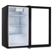 small beer fridge glass door beverage wine cooler chiller rack mini refrigerator led light beer