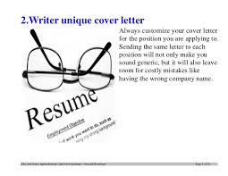 Examples Of Good Cover Letters by Top 12 Tips For Writing An Effective Firefighter Cover