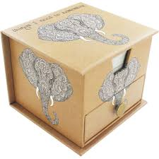 writing paper uk writing paper buy writing paper at the works things i need to remember elephant memo cube