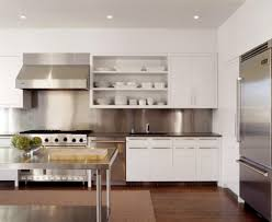 White Laminate Wood Flooring Ideas White Kitchen Cabinets With Glass Top Table And Laminate