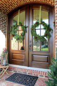 Outdoor Christmas Wreaths by Diy Christmas Wreath From Garland The Sequel Less Than Perfect