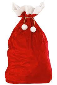 santa sacks velvet deluxe santa sack by widmann 1561x karnival costumes