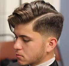 1 sided haircuts men taper vs fade haircut choose the best hairstyle for you