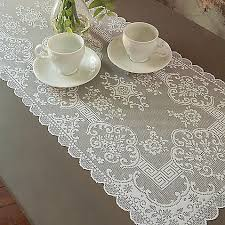 54 inch table runner downton abbey grantham collection lace 14 inch x 54 inch table
