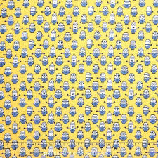 minion wrapping paper 1 in a minion graphic set minions yellow yardage despicable me