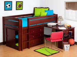 Desk For Bedrooms Bedroom Walnut Wood Walmart Loft Bed With Drawers And Desk For