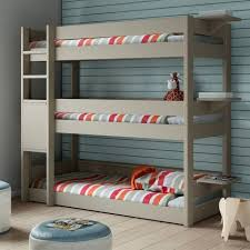 3 Bed Bunk Bed Space And Staying Stylish With Bunk Beds