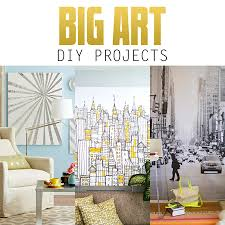 large living room wall art captivating big wall art on diy projects the cottage market