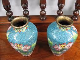 Antique Cloisonne Vases Pair Of Antique Cloisonne Vases French Antiques Melbourne
