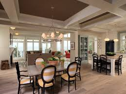 open kitchen dining living room floor plans images about open