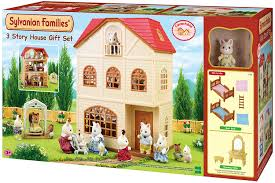 3 story house gift set b amazon co uk toys u0026 games