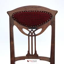 Art Deco Style Art Nouveau Art Deco Style Chair With Wood Carvings Depot 19