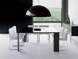 Contemporary Italian Dining Table Nella Vetrina Dona She 10 Modern Italian Leather Dining Chair