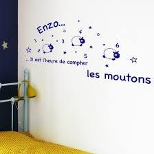stickers mouton chambre bébé stickers moutons à personnaliser décoration murale chambre bébé