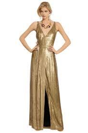 clarice gold sequin gown by diane von furstenberg for 185 rent