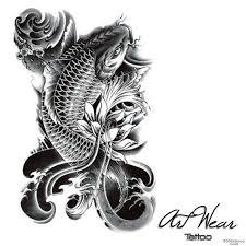 koi carp tattoo photo num 12104