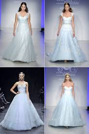 coloured wedding dresses uk blue or blush the best coloured wedding gowns for fall 2013