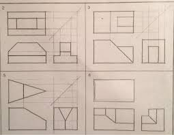 multiview orthographic projection problem 6 bo chegg com