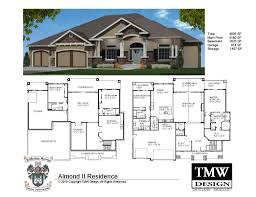 small ranch house luxury ranch house plans with walkout basement two master suites