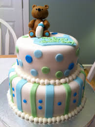 teddy bear baby shower cake j cakes pinterest teddy bear