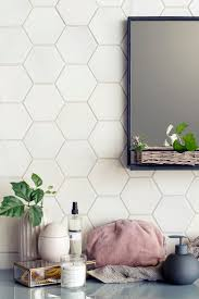 best 25 hexagon tile bathroom ideas on pinterest shower white