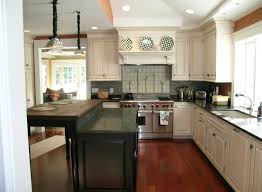 kitchen kitchen with solid wood cabinets and stainless steel