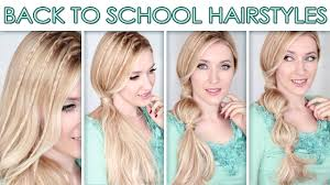 hairstyles quick and easy to do m hairstyles for long hair for school cute quick bubble ponytail