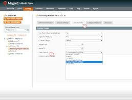magento layout catalog product view magento how to assign specific layout for a category template