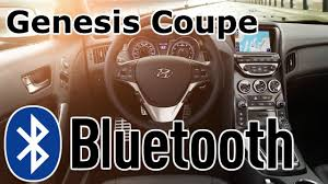 hyundai genesis bluetooth setup hyundai genesis coupe bluetooth phone setup
