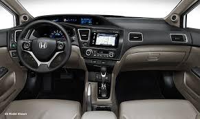 Honda Civic Si Interior 2015 Honda Civic Sedan Si Review